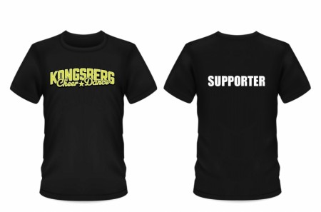 T-shirts Kongsberg Cheerdance supporter