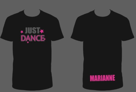Just Dance T-shirts