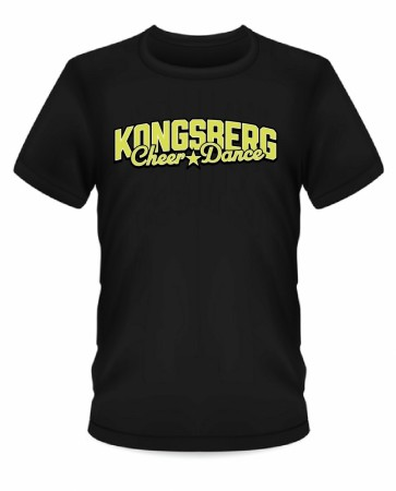 T-shirts Kongsberg Cheerdance